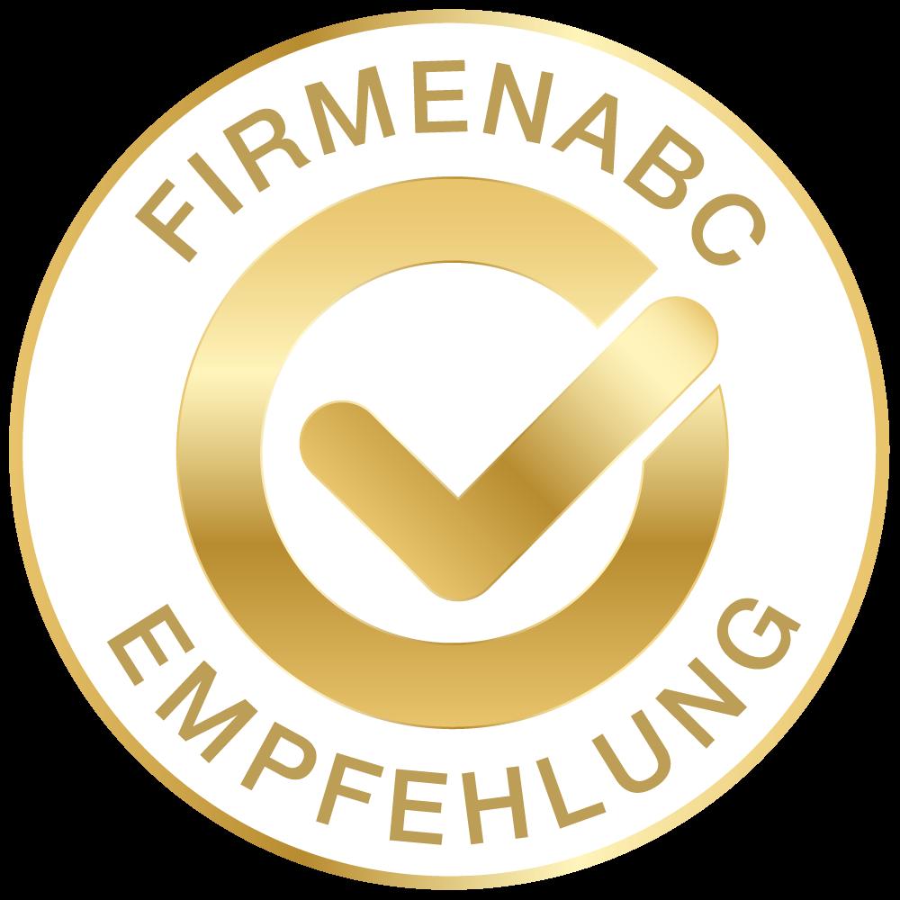 FirmenABC Gold Unternehmen – ausgezeichnet und empfohlen von FirmenABC.at
