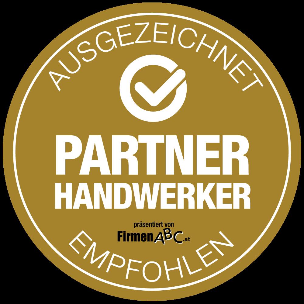 FirmenABC Partner Handwerker – ausgezeichnet und empfohlen von FirmenABC.at